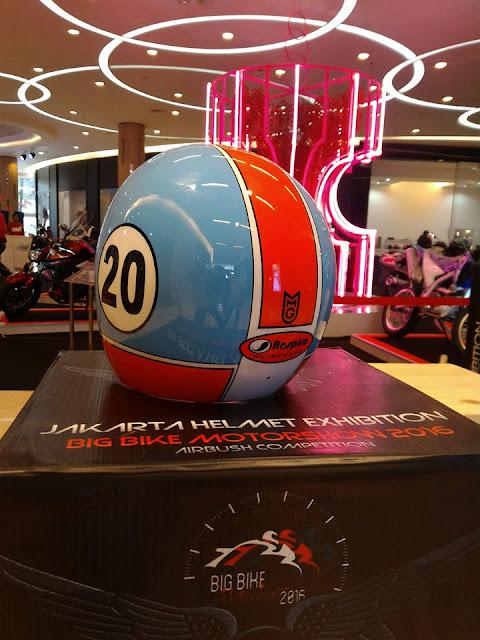 Respiro di Jakarta Helmet Exhibition 2
