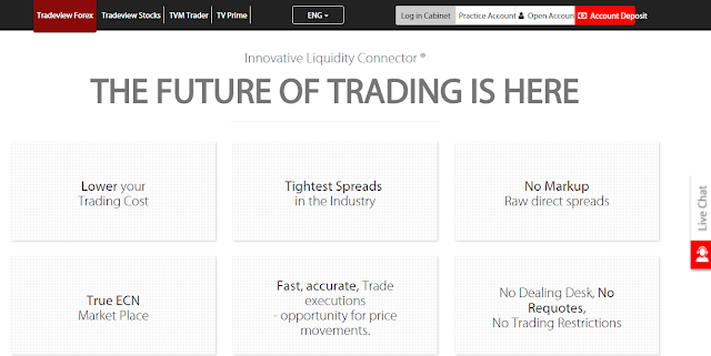 TradeView True ECN Forex Broker