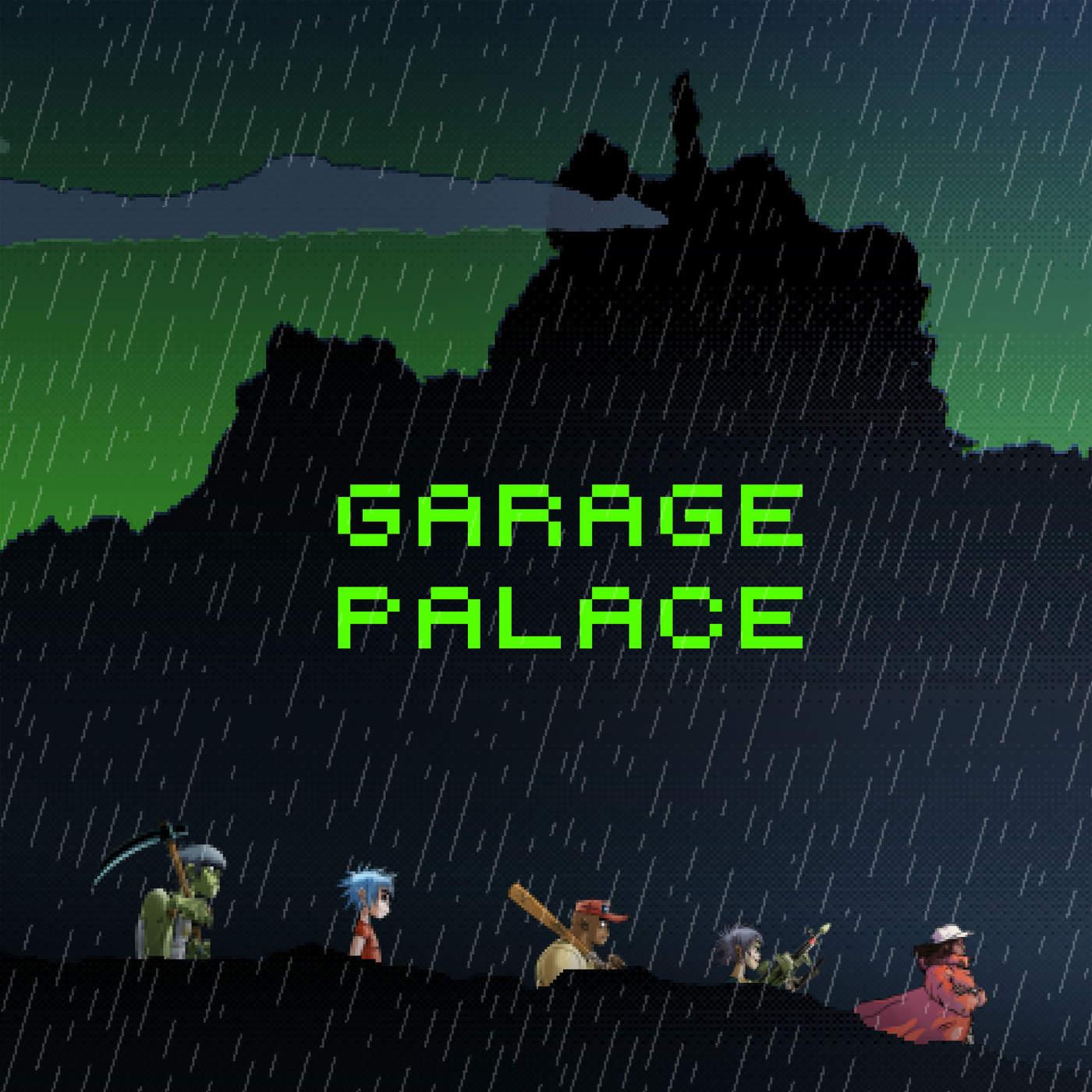 Gorillaz - Garage Palace (feat. Little Simz) - Single