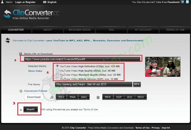 Cara Mudah Download Video di Youtube Lewat Clipconverter.cc