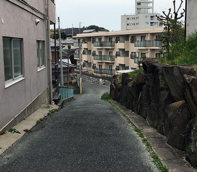 蜆塚のうとう坂(2017年4月15日撮影)