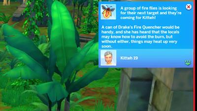 sims 4 fire flies