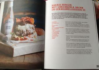 Recept badass burger boek Miljuschka's Food Trucks
