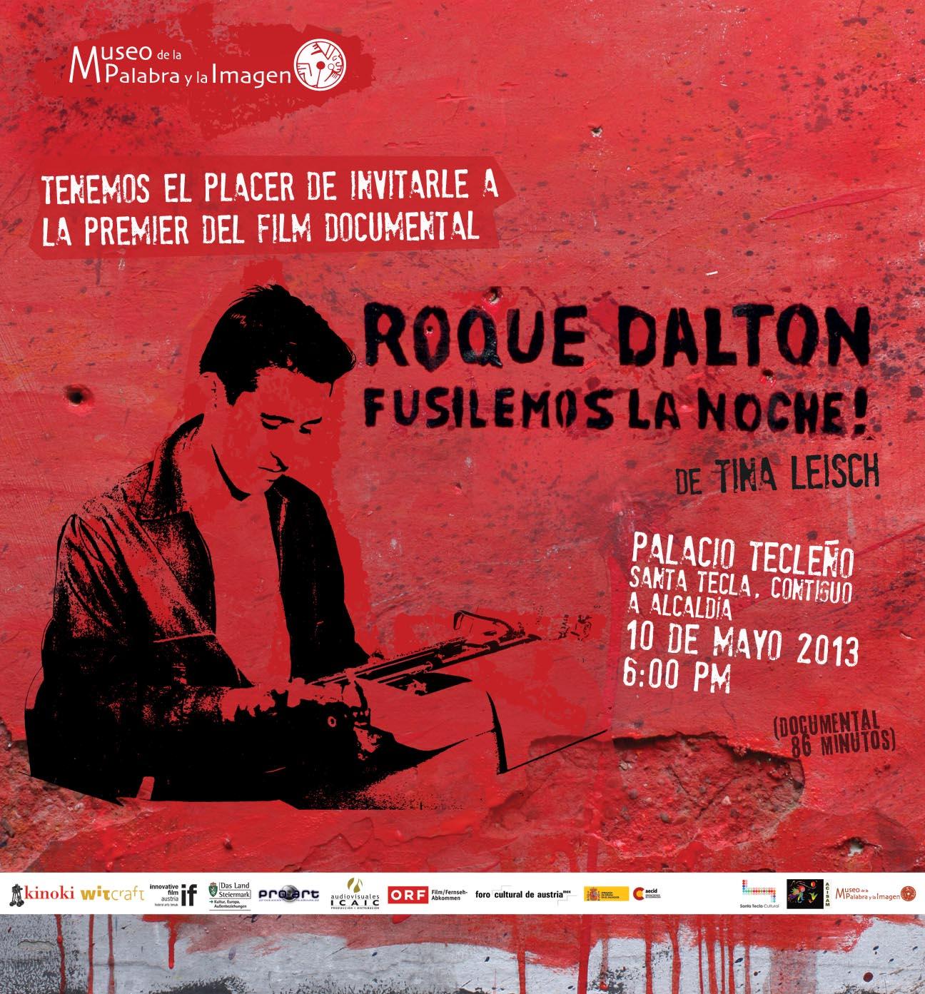 Entre los temas musicales con letras de poemas de roque dalton se encuentran poema de amor 1980 aproximadamente del conjunto salvadore o yolocamba i ta