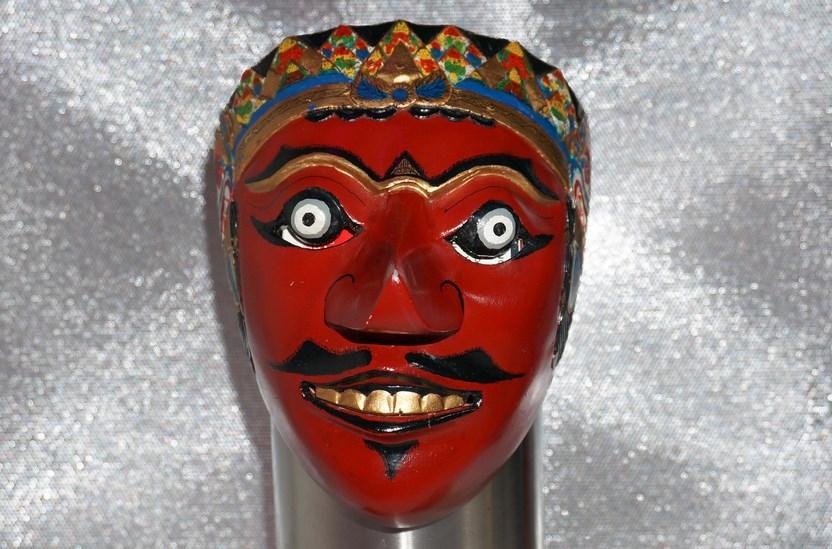 2. Indonesian Mask: Topeng Kelana