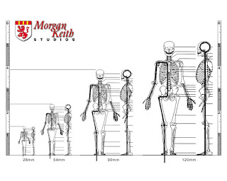 Iron Mammoth's Studio: Figure Sculpting: Scale, Size and