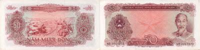 Vietnam: Billete de 50 dong de 1976