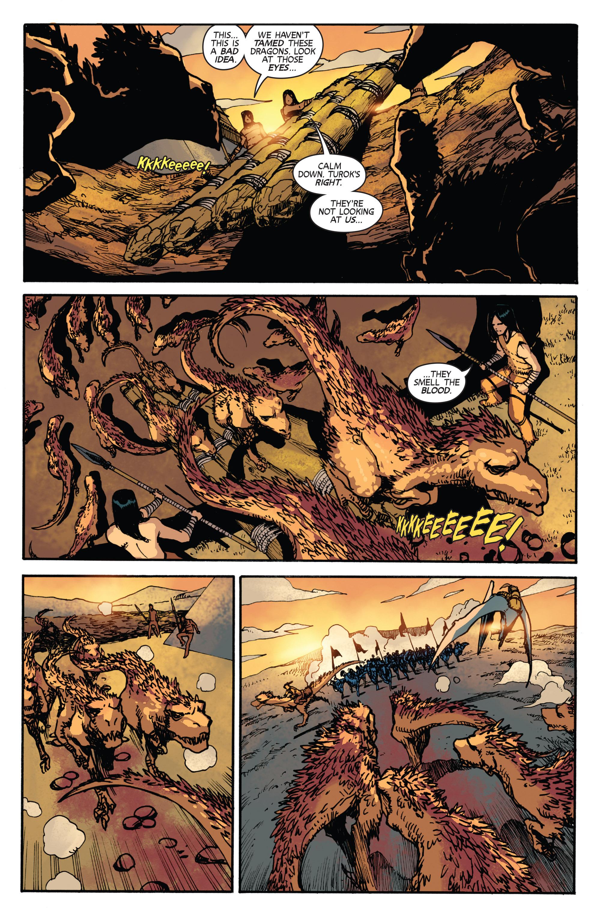 Read online Turok: Dinosaur Hunter (2014) comic -  Issue # _TPB 2 - 81
