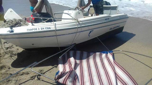 Σωτήρια επέμβαση ναυαγοσώστη σε βάρκα που ανετράπη στο Καραβοστάσι Θεσπρωτίας (+ΦΩΤΟ)