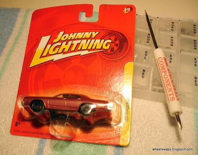 tutorial how to customize johnny lightnings and hot wheels
