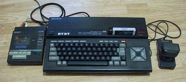 Imagen: MSX - HIT BIT de SONY