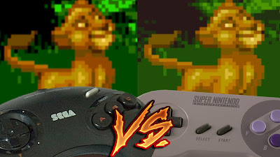 Mega Drive Vs SNES - The Lion King