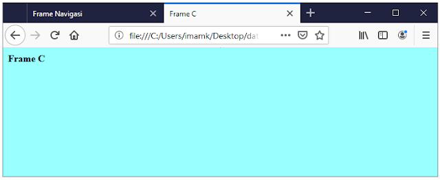 Output frame C