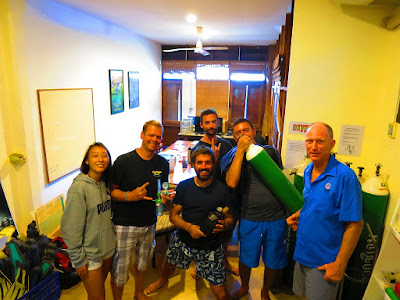 PADI Specialty Instructor training in Khao Lak in March 2018