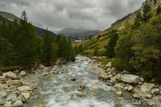 Source de l'Isère en Savoie