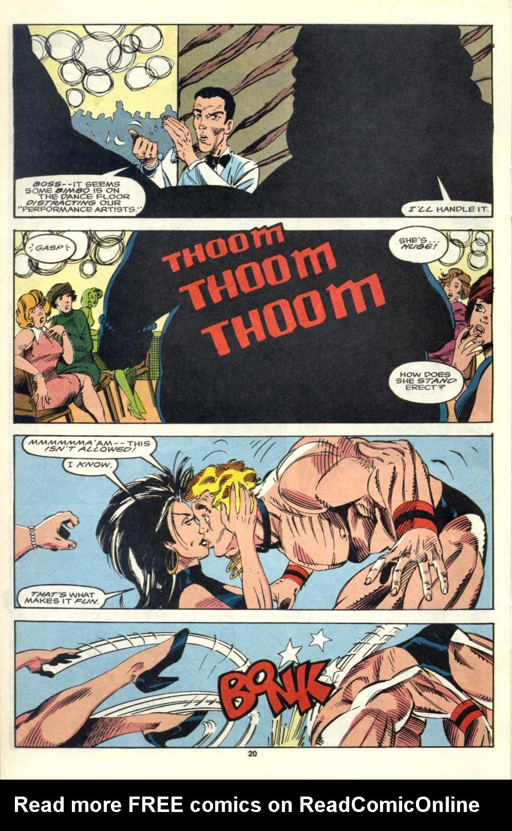 Read online Alpha Flight (1983) comic -  Issue #105 - 17