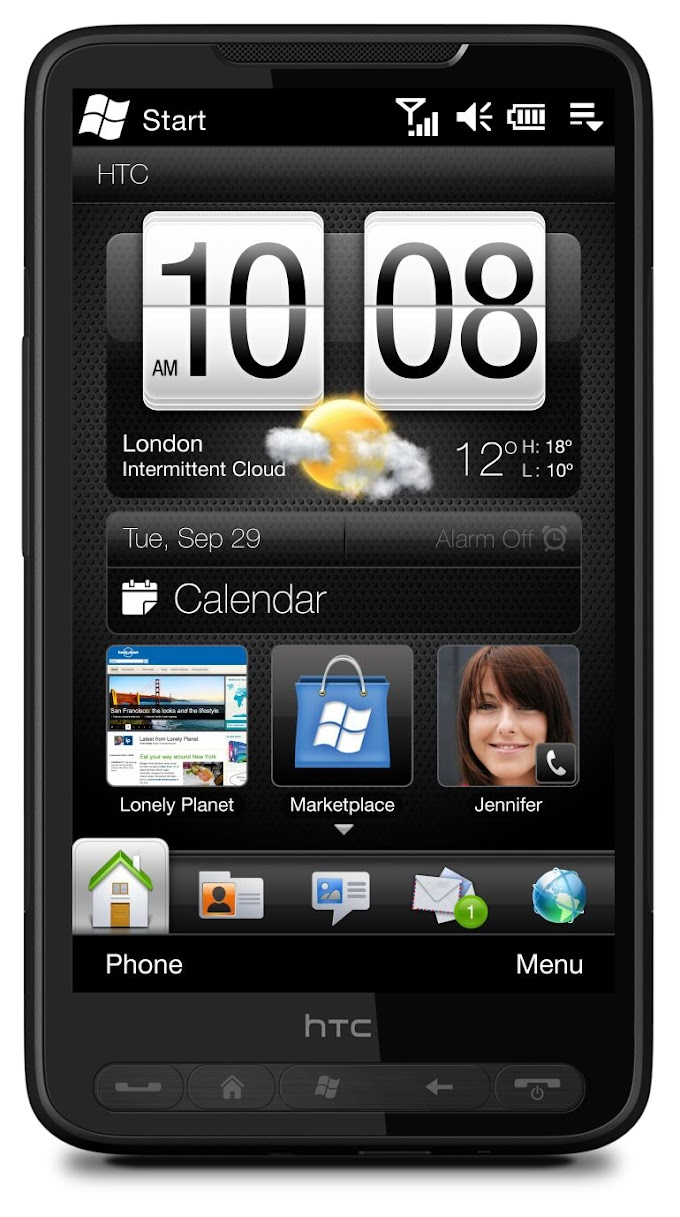 HTC HD2 receives Android ROM from Nokia X