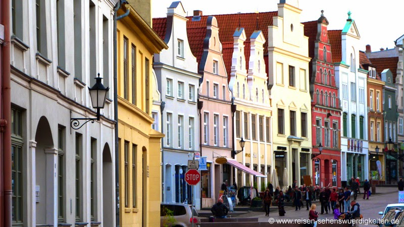 Wismar Innenstadt, Geschäfte in der Altstadt von Wismar