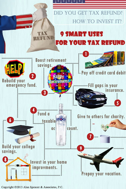 9 Smart Uses For Your Tax Refund