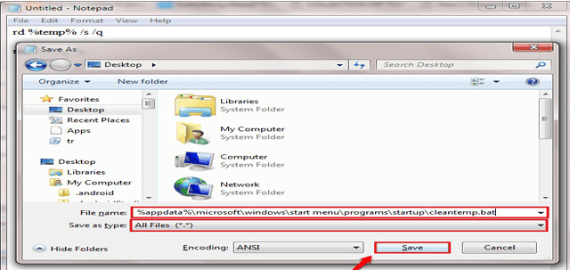 كيفية حذف ملفات Temp تلقائيًا في Windows 10 عند بدء تشغيل جهاز الكمبيوتر