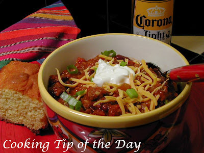 ... for a beefier Chili... try Chuck Wagon Chili .... always a favorite