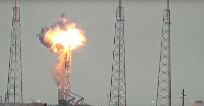 SpaceX Explosion Destroys Facebook Satellite