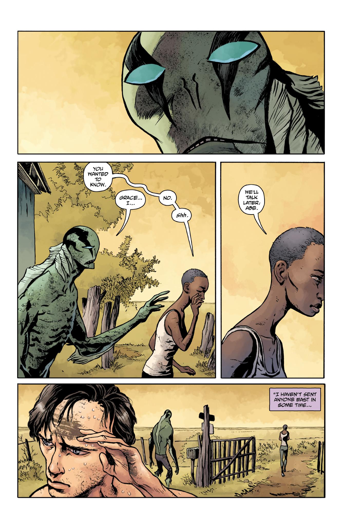 Read online Abe Sapien comic -  Issue #18 - 20