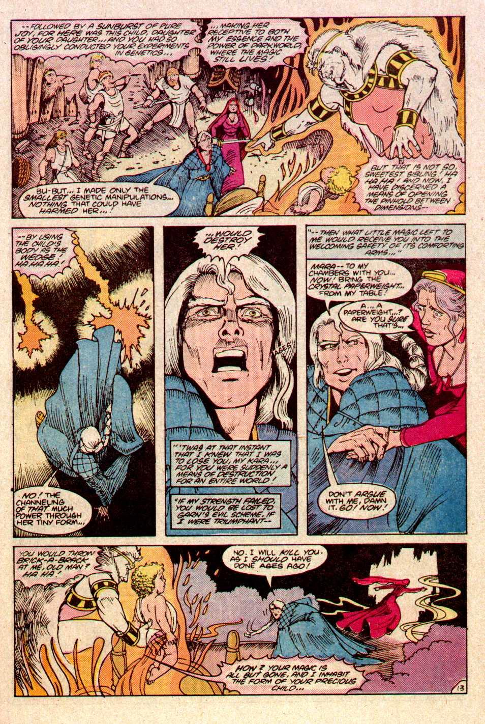 Read online Secret Origins (1986) comic -  Issue #11 - 14