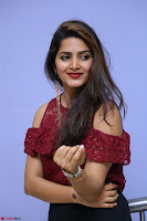Pavani Gangireddy in Cute Black Skirt Maroon Top at 9 Movie Teaser Launch 5th May 2017  Exclusive 036.JPG