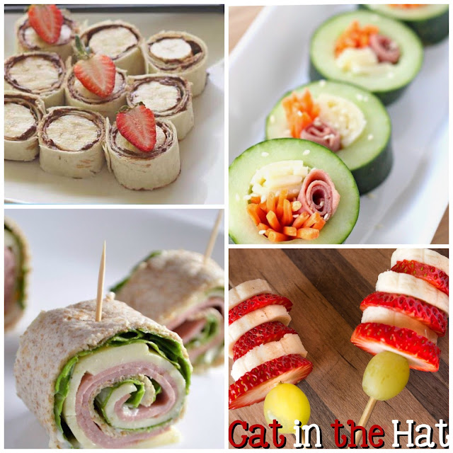 fun finger foods for non sandwich school lunches