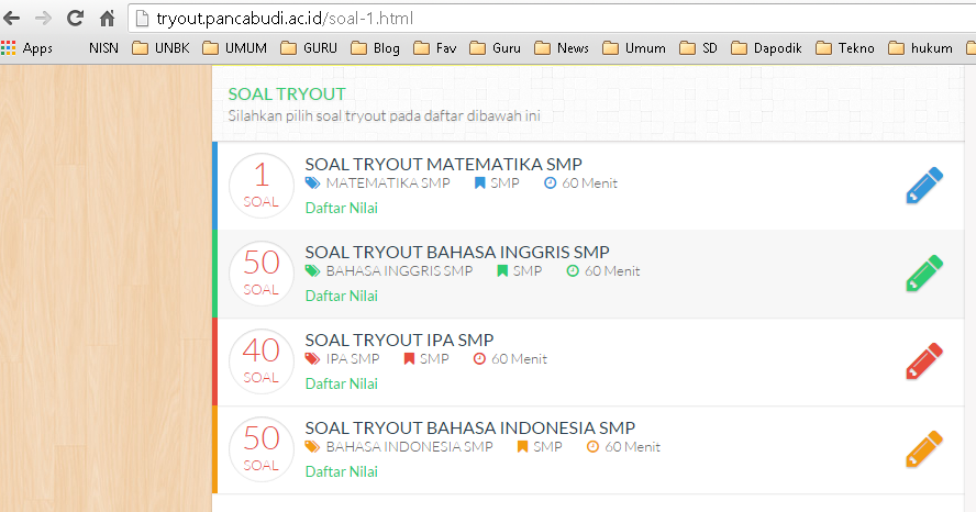 Kris - Guru TIK SMPN 1 Sidomulyo Lampung Selatan: Daftar ...