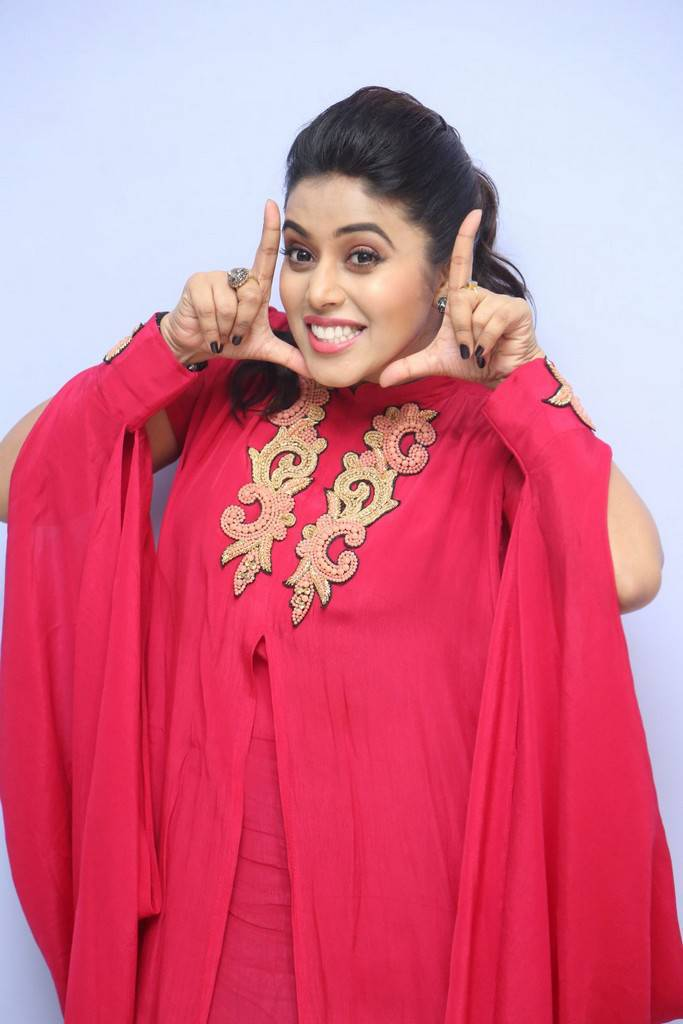 Poorna Stills At Movie Motion Poster Launch