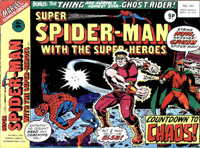Super Spider-Man with the Super-Heroes #167, the Smasher