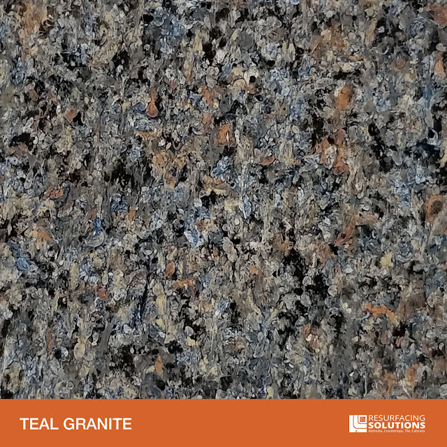Resurfacing Solutions Knoxville Faux Granite Countertop Color Sample 38