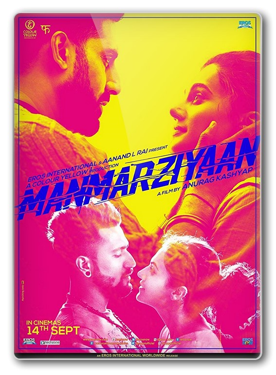Manmarziyaan (2018) Hindi 720p WEB-Rip x264 AAC 2.0 - ESUB ~ Ranvijay