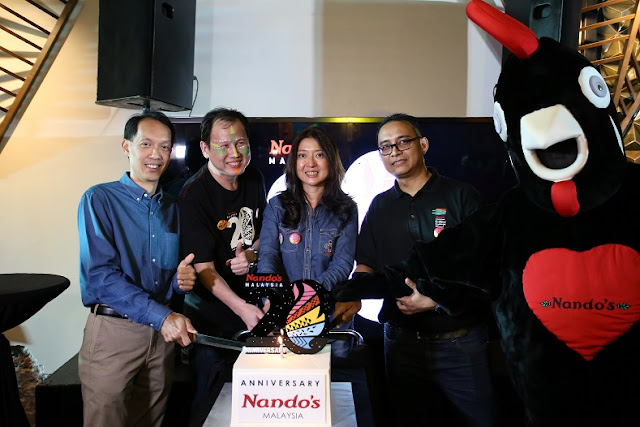 Nandos Rai Ulang tahun ke-20