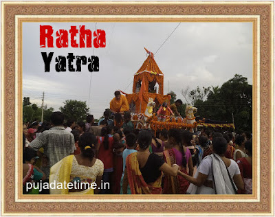 2018 Ratha Yatra Puja Date