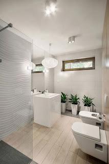 decoración baño minimalista
