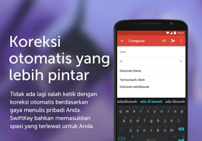 Download SwiftKey Keyboard Apk Mod Unlocked Themes