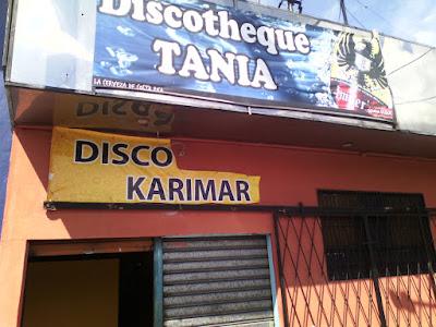 discoteque tania y discoteque karymar