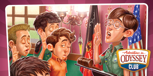 Adventures in Odyssey: Monthly Joy!