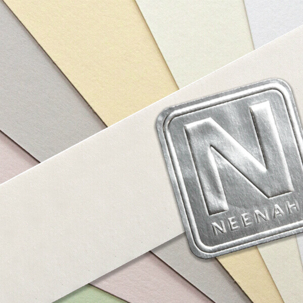 NEENAH Cotton Papers - pastel colors