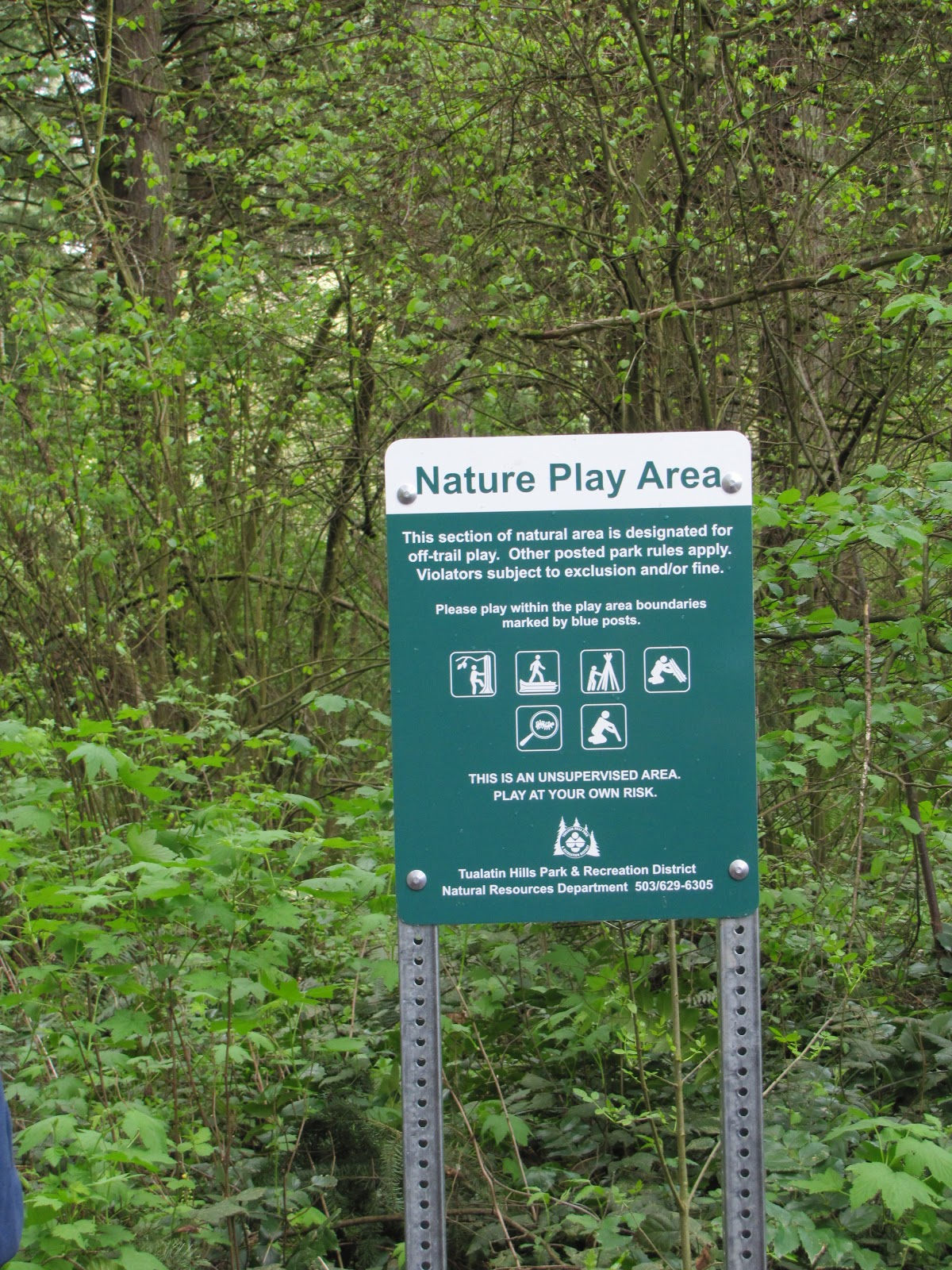 The Learning Landscape Nature Play In Parks Two New Oregon Examples