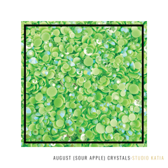 AUGUST (SOUR APPLE) CRYSTALS