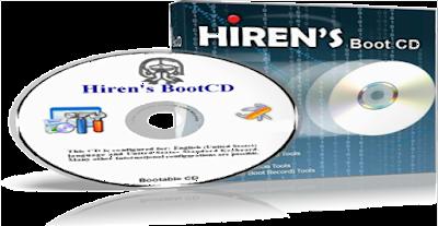 طريقة تشغيل اسطوانة الصيانة Hiren's BootCD من الكمبيوتر مباشرة و إصلاح أي مشكلة