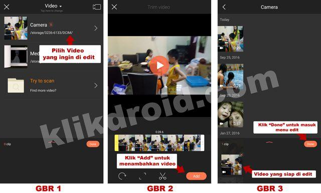 Cara Mempercepat Video Menjadi Efek Lucu di Android