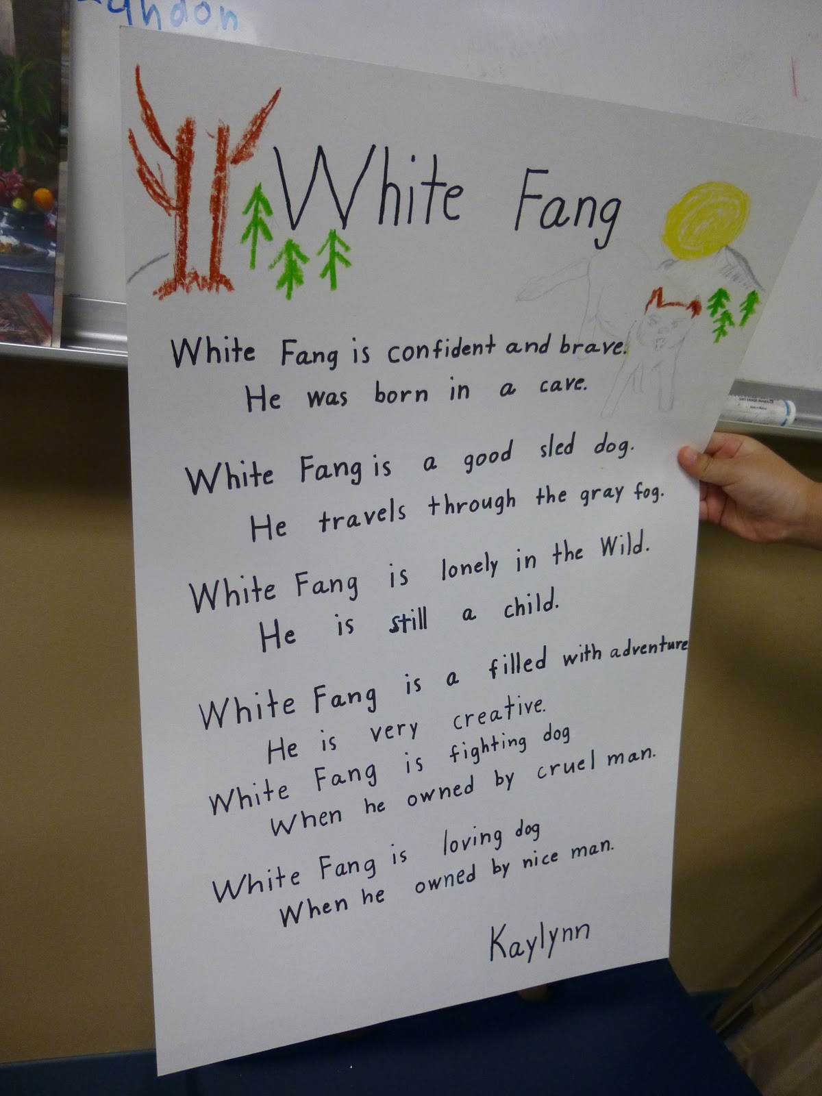 White Fang Book Report White Fang 03 04