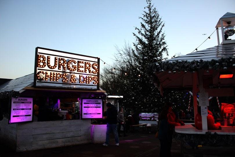 burgers hyde park winter wonderland