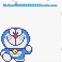 hama beads mini doraemon4