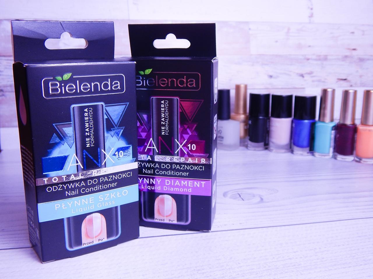 1 nagłowek bielenda total repair odżywka płynne szkło płynny diament anx recenzja najlepsze odżywki serum do paznokci jak wzmocnić paznokcie french manicure
